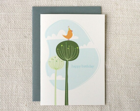 Birthday Card - Birthday Suit Birdie