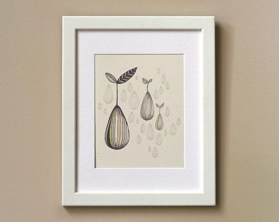 Art Print 8 x 10 - Germinate