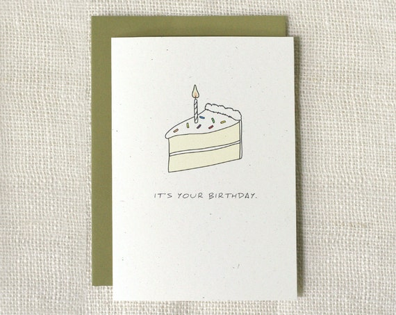 Birthday Card - Puke