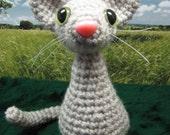 Whiskers on Kittens- Amigurumi Kitty Cat