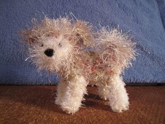 Fox Terrier Amigurumi Patron : Items similar to PATTERN- Shih Tzu or Terrier Dog Crochet ...