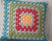Reserved for Janel - Granny Square Pillow