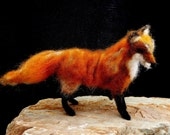 Needle Felted Red Fox  Reserved