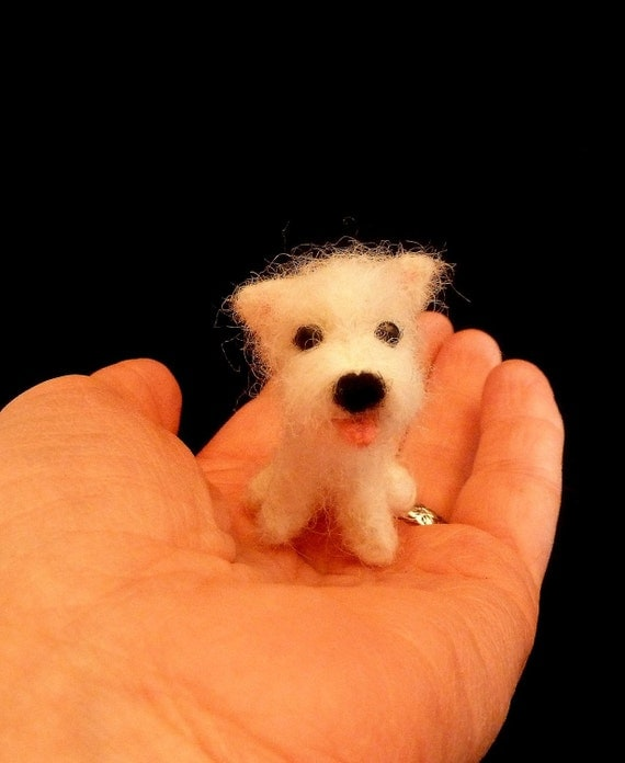 Sale - 1/12th Scale West Highland Terrier Puppy