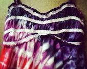 SALE- Small tie dye babydoll tunic