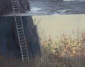 Ladder No. 2 -Original Painting-