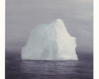Iceberg in the Fog - Archival Print