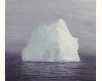Iceberg in the Fog - Archival Print
