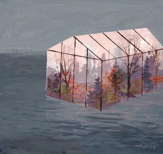 Floating Autumn greenhouse