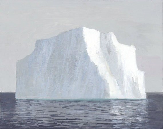 Iceberg In May-Original Painting-