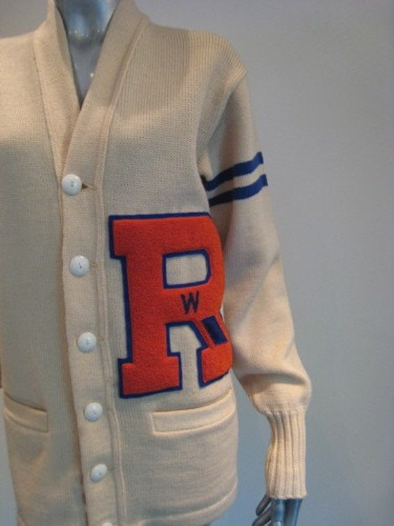 Vintage Letter Sweaters 5