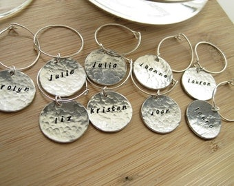 Wine Charms Silver - This Is Your Drink - Silver Customizable Wine Charms by Marley Jane Mother Mother's grandmother day mom