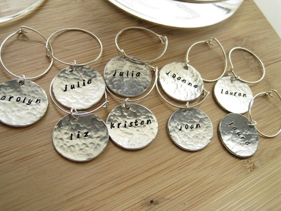 Reserve Wine Charms Silver 14 - No This Is Your Drink - 14 Silver Customizable Wine Charms