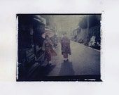 MAIKO - Limited Edition Print of Polaroid 669 Transfer Signed by Artist