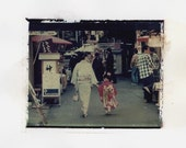 SHICHIGOSAN - Limited Edition Print of Polaroid 669 Transfer Signed by Artist