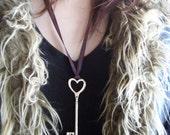 Key To My Scottish Heart Pendant