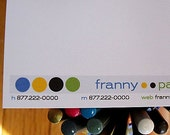 Four Dots Calling Cards - Set of 21