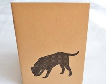 Little Notebooks Kraft Black Lab - Set of 2 Dog Pocket Notebooks