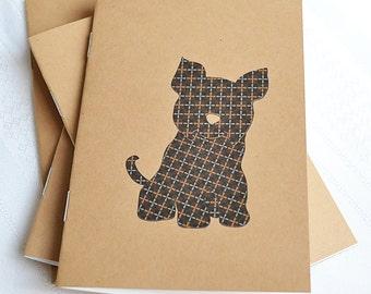 Little Notebooks Kraft Yorkie - Set of 2 Dog Pocket Notebooks