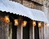 ON SALE Mason Jar Light Strand - Wedding