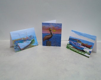 Cards Mix and Match 5 of your choice,   Donation to Red Cross Disaster Relief