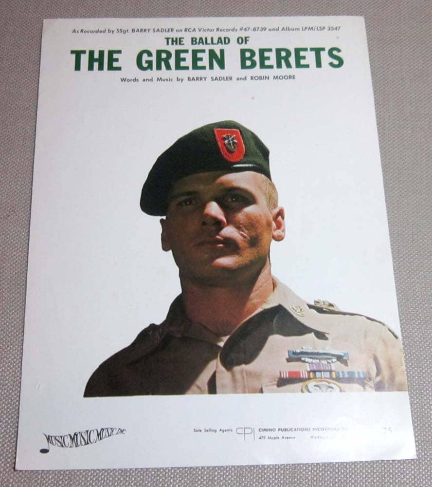 Ballad of the Green Beret Lyrics - Scout Songs