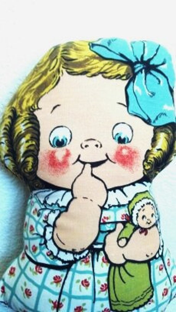 Deans Rag Knock About Toy Sheets Dolly Dingle Doll