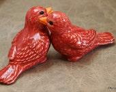 Red Love Birds (Set of 2)