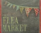 Flea Market 11x14 art print