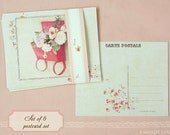Classic Postcards - gift set of 6