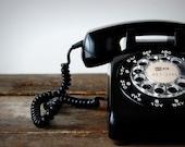 Vintage telephone print