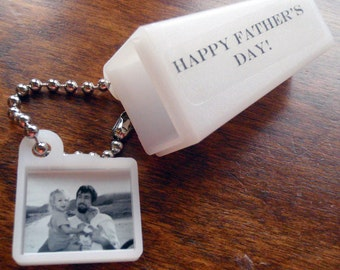 PERSONALIZED FATHERS DAY Photo & Words. Photo Novelty Viewfinder.