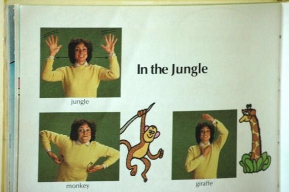 Clearance Sign Language Fun Book Sesame Street