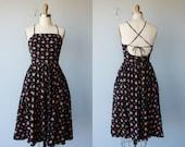 1970s dress / 70s dress / Lanz Original dress - size small