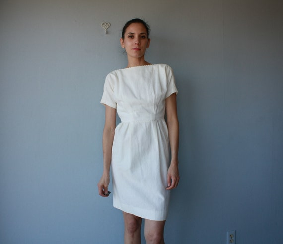1960s dress / 60s dress / Carte Blanche dress - size small