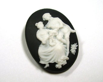 The Hidden Locket - Victorian Lovers Pin with Mini Photo Frame - Includes Printing Service