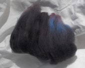 Red Blue and Black 1.0 oz 80s Merino Wool
