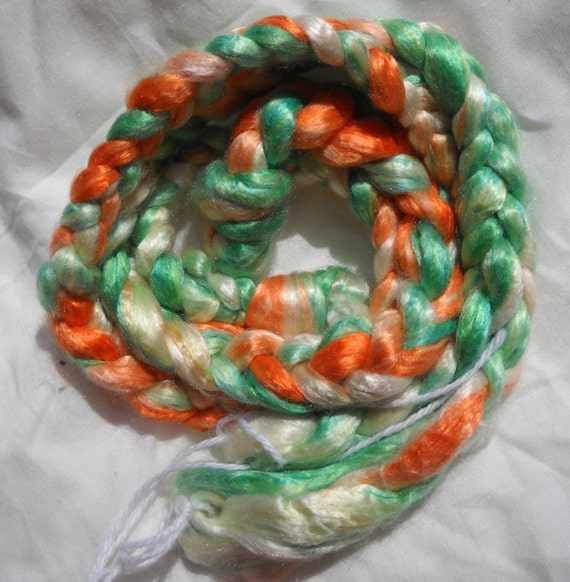 The Fight  1.2 oz  Silk roving