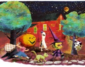 Ghouls Night Out - Print