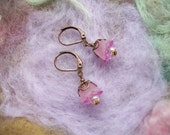 Tiny Earrings Pixie Pink Berries