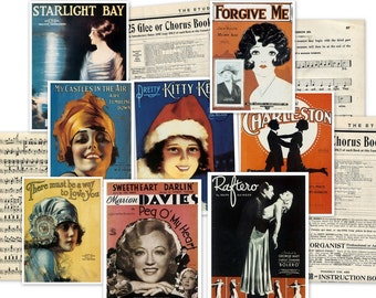 CD 250 Vintage Sheet Music and Victorian Music ALBUM COVERS Images Photos