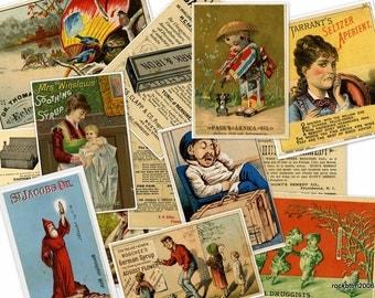 DVD 530 Hi Res Art of Vintage MEDICINE  Products Posters Ephemera Advertising Images Medical Children Herb