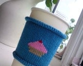 Cupcake Coffee Cozy - Coffee Cup Cozy