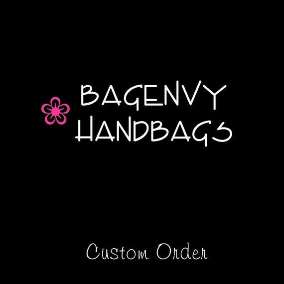 Custom Listing For (EmiyAlexandra) - Design Your Own Bridesmaid Clutches - Set Of 10
