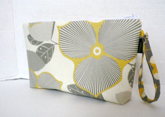 Zippered Diaper Clutch - In Optic Blossom and Martini  Or Custom Design Your Own