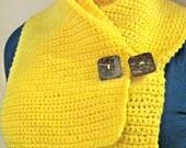Sunny Yellow Neck Hugger