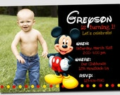 Mickey Mouse Invitation!