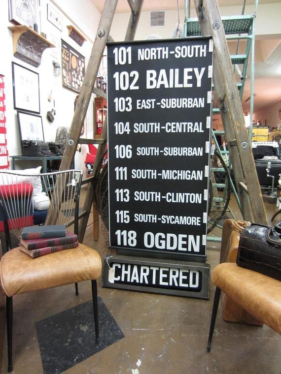 vintage US route sign. 101 north-south to 118 ogden.