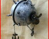 Steampunk MAGICAL Clutch Purse Gothic Pirate Victorian  ---MINI SUBMARINE
