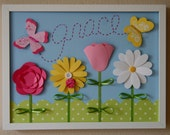 Grace in the Garden - Customize with Name or Word of Your Choice